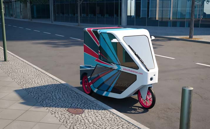 """Cargobikes and micro-vehicles for the transport of goods on """"the last mile""""."""